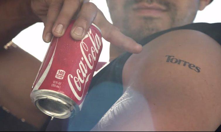 纹身图案可口可乐分享展示