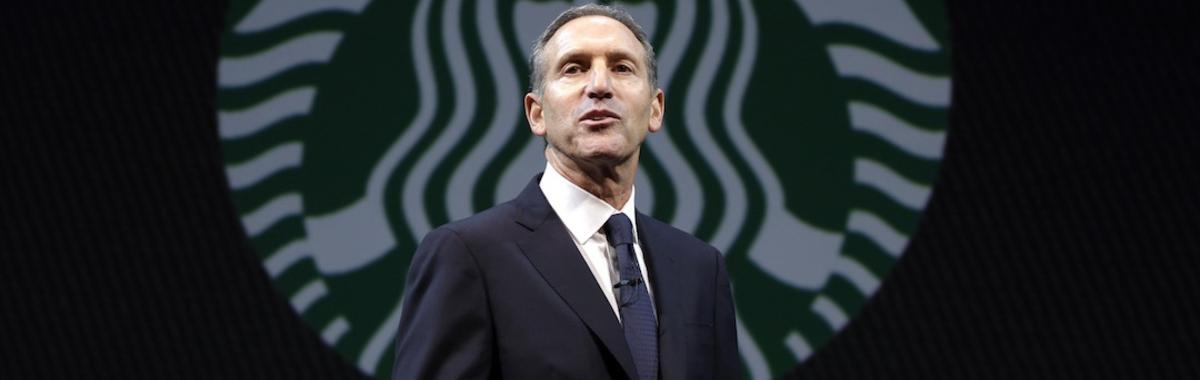 对美国政治看法颇多的,为什么是卖咖啡的星巴克?