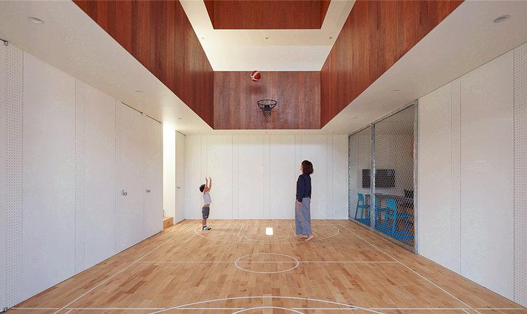 篮球主题幼儿园外观设计
