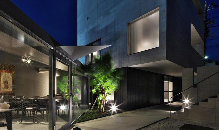平房庭院设计实景图