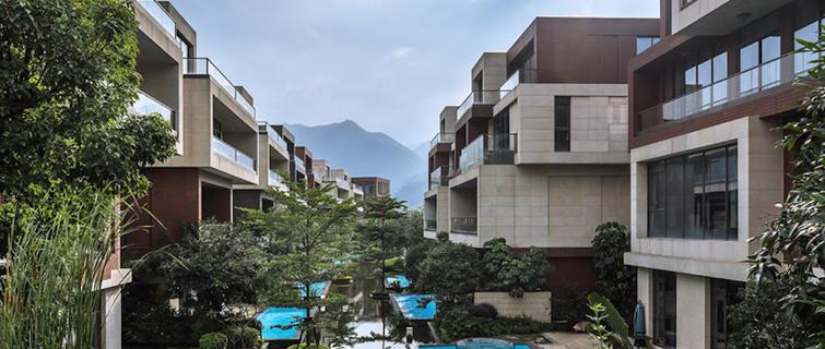 公园的这片大师盖了8年,位于杭州西溪豪宅卧室9平方米湿地怎么设计图图片