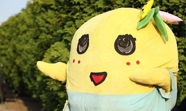 那只努力得让人心疼的日本吉祥物