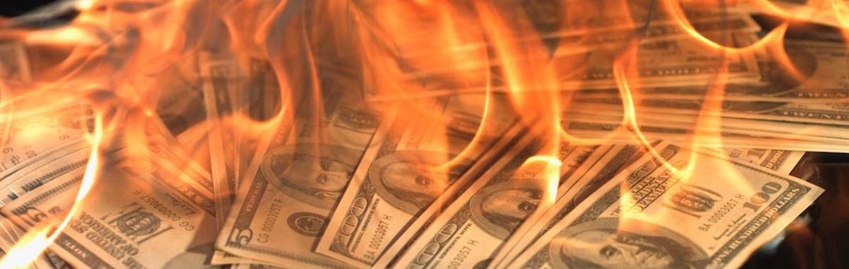 创业公司一年亏掉几千万已经不新鲜,这些钱都去哪儿了?