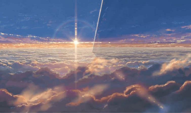 新海诚天空背景素材高清