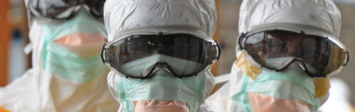 他感染过世上最危险的埃博拉病毒,现在他为防止其传播而战斗