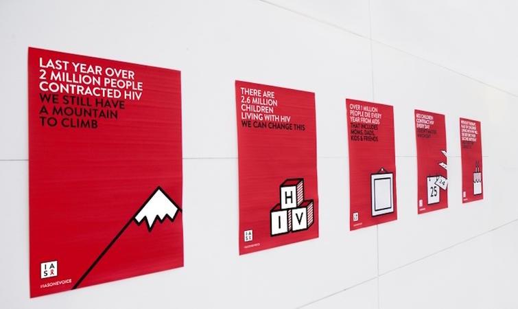 国际艾滋病协会换视觉设计