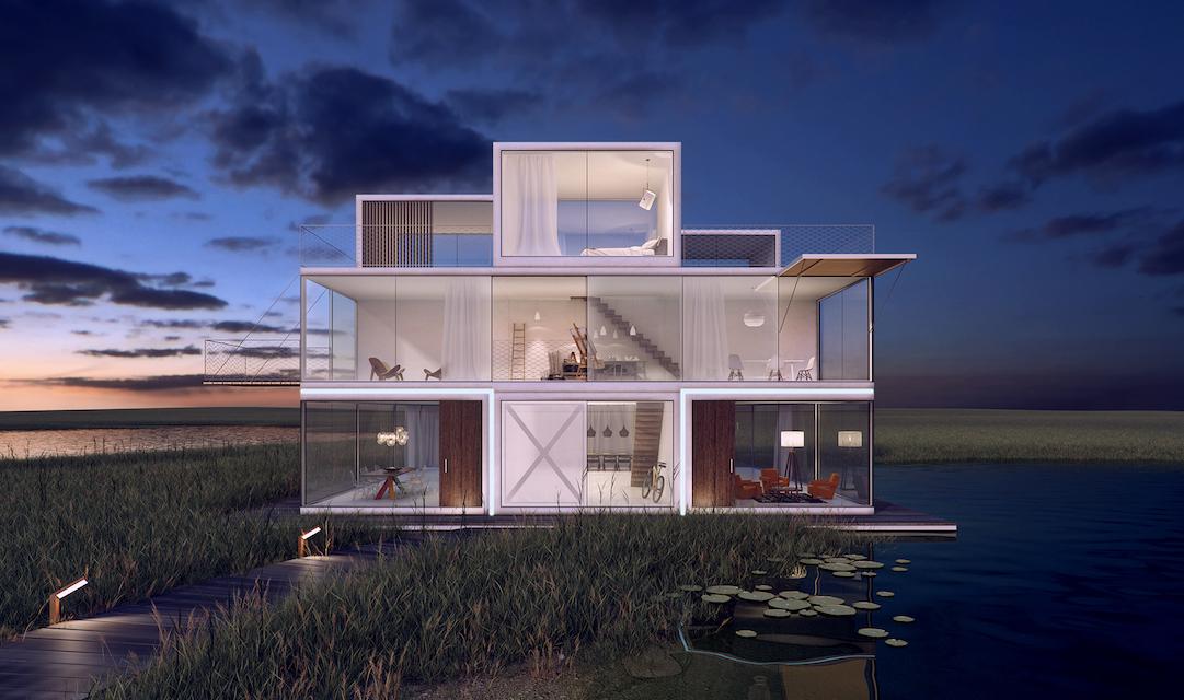 美国推出3D打印房子 一天造好一套房