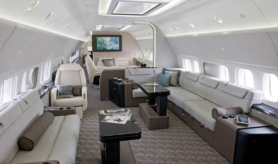 等舱图片787私人飞机-波音787头等舱图片