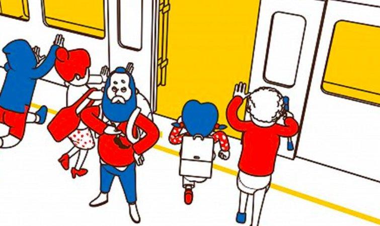 目前,台北捷运有文湖线、淡水信义线等共五条线路,营运车站共 102 站,每日平均旅客量约为 178 余万人次。为了 20 周年的纪念,它似乎筹备得比较隆重,今年早些时候还推出了以20 个台北城市意象为主题的猴年套票,以及限量发售了棕、红、绿、橘、蓝 5 种捷运路线颜色一日票代币。 事实上,类似的萌系安全宣传片,不得不提澳大利亚墨尔本铁路运输公司 Metro Trains 在 2012 年推出的《蠢蠢的死法》( Dumb ways to die )。短短 3 分钟的片子中,脑洞大开地列举了 21 种的死法: