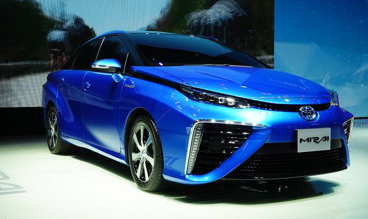 氢能源汽车结构原理图