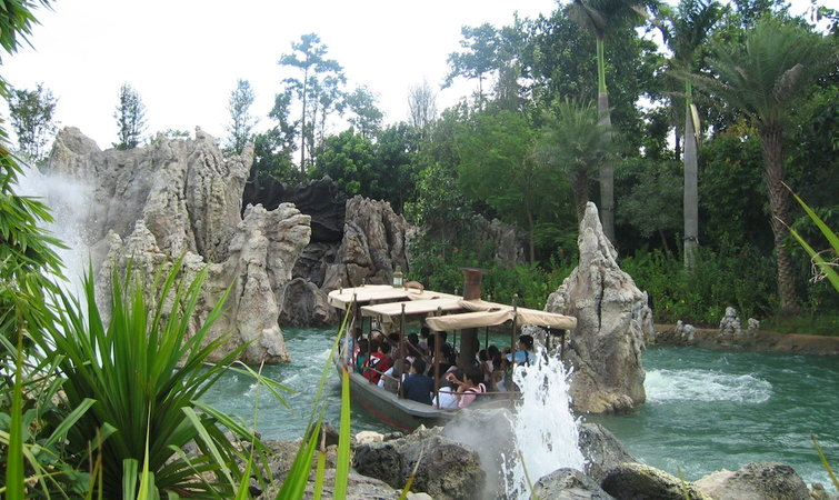 """游乐园设施拍电影,迪士尼准备在""""丛林探险""""上再干一次"""