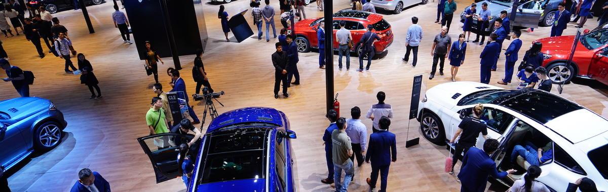上海车展场面依旧很热闹,汽车业下一个竞争点是什么?  2017 上海车展