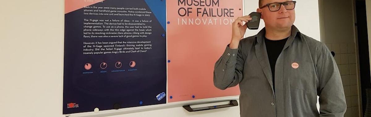 这个心理学教授筹建了一个失败博物馆,展出了 60 多家知名公司的 70 多件失败产品