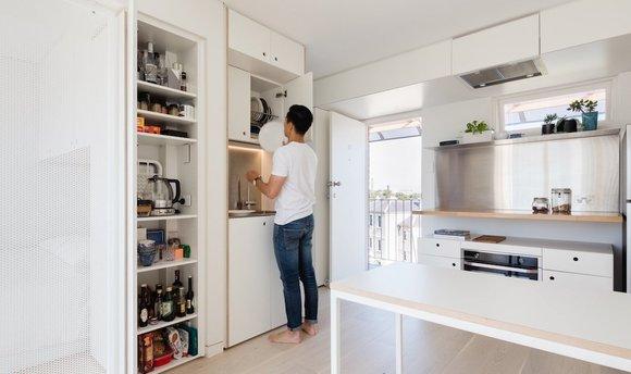 一个24平米公寓,借鉴了日式企业的5s管理法,这是说啥?