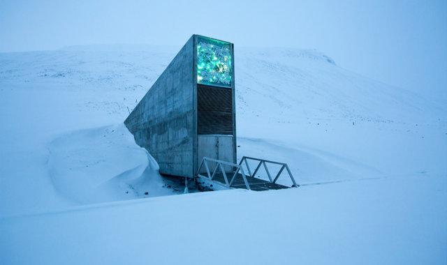 北极圈专门设计了一个种子库