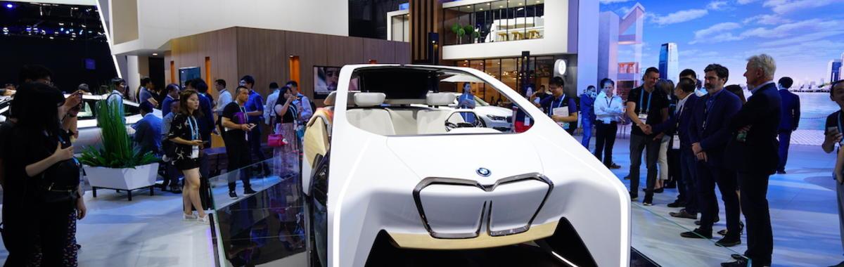 CES 在上海办了个很技术的车展,一起看看那些靠谱的和不靠谱的新东西