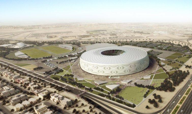 卡塔尔世界杯体育场设计曝光,就像阿拉伯男子的帽子