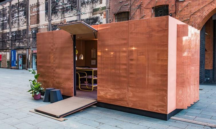 mini 做了一个都市小屋图书馆,所需空间不过是 15 平米图片