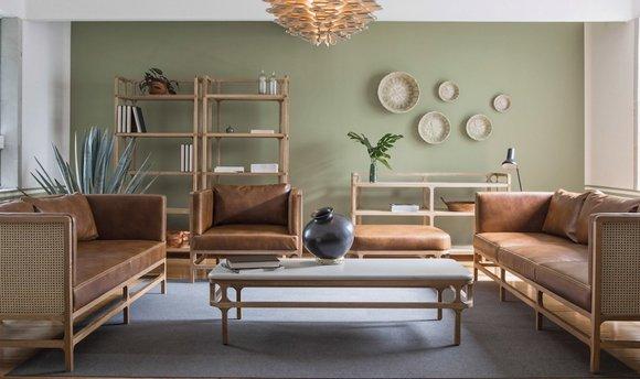 传统手工艺融入当代家具设计,墨西哥这个品牌做得不错