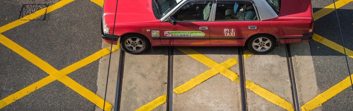 黄线,禁停,上海出租车司机的个人问题