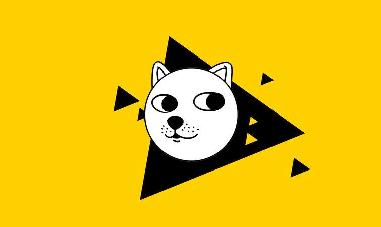 logo狗头素材