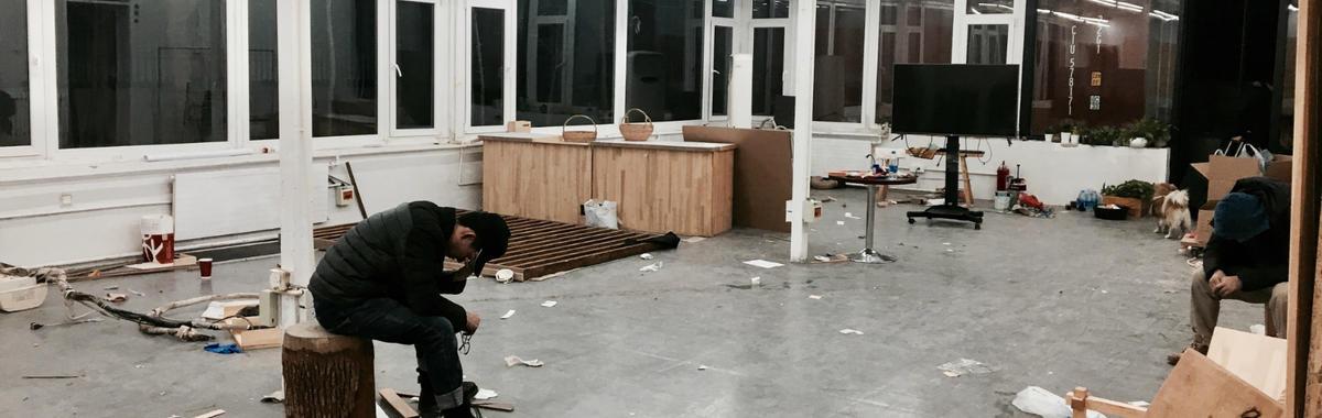一个木工坊,一个文创园,两个艺术圈经营者在一个冬天