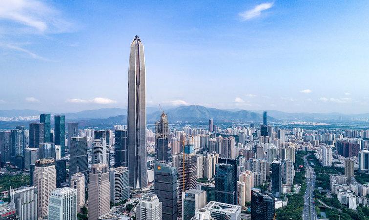 中国二线城市的摩天大楼又刷新了...