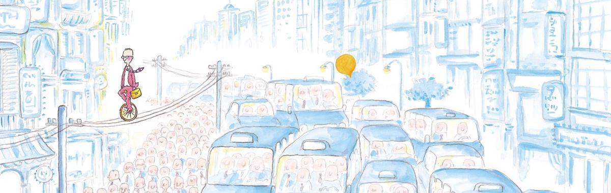 漫画家朱德庸:创作者要保持单纯的生活,以及,人们应当学会掌控自己