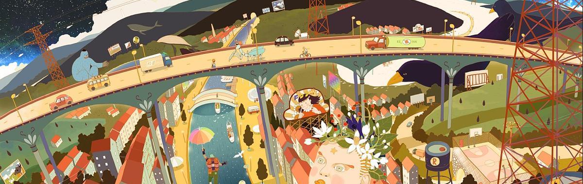 杭州西溪几栋别墅,成了 20 多个插画师和漫画人的住处和工作室,这是怎么形成的?