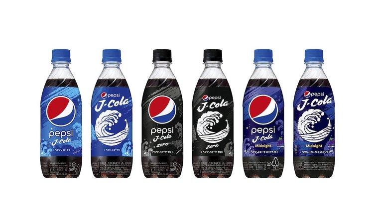 """日本人爱在半夜喝可乐,百事为之设计了专门的新品""""午夜可乐""""图片"""