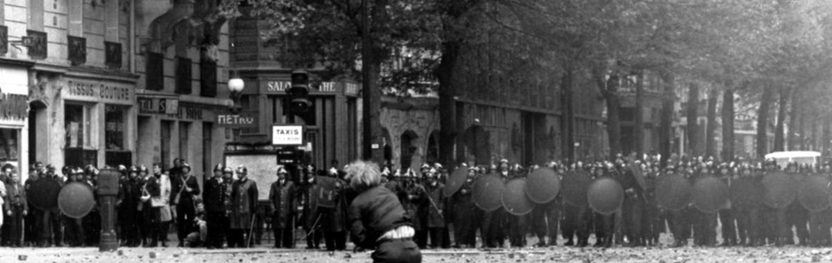 """17张照片帮你回顾 1968 年的""""五月风暴"""",它将法国推向了现代世界"""