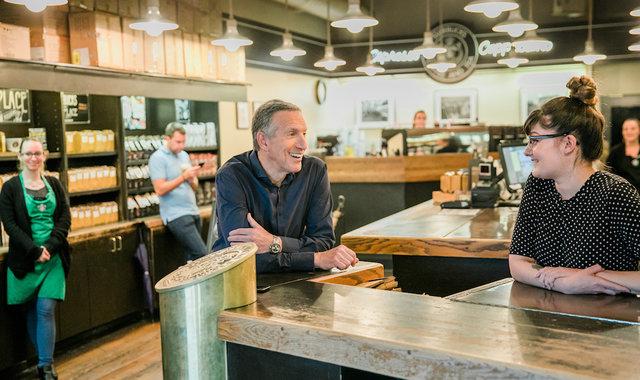 31年,舒尔茨把咖啡店变成了一个规模化全球化的生意