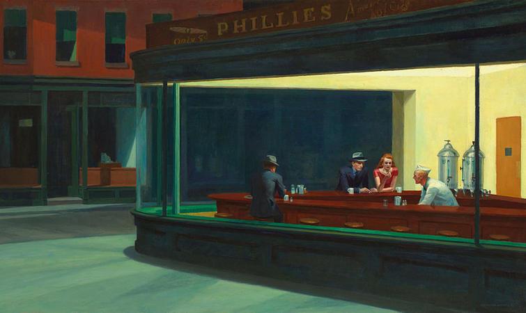 好莱坞交易_爱德华·霍普的《杂碎》拍出了画家本人的最高价,9200 万美元 ...