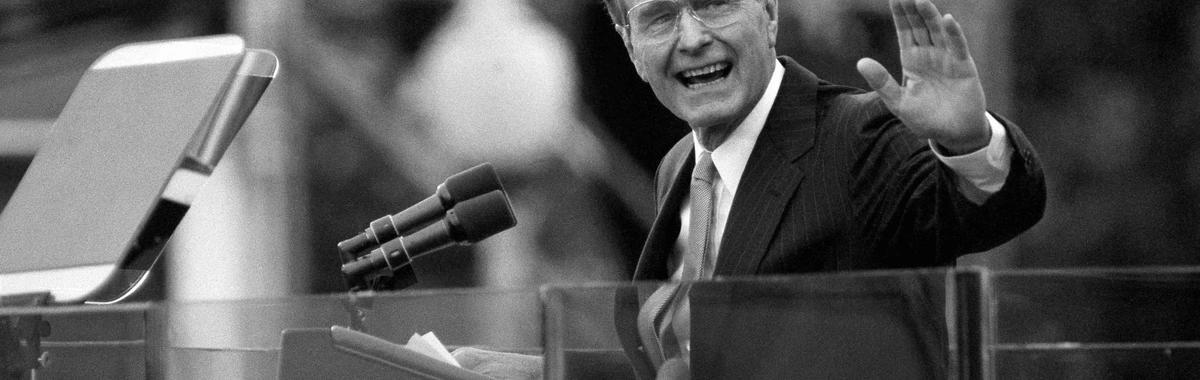 美国第 41 任总统乔治·布什去世,他是一个用使命来定义人生的人