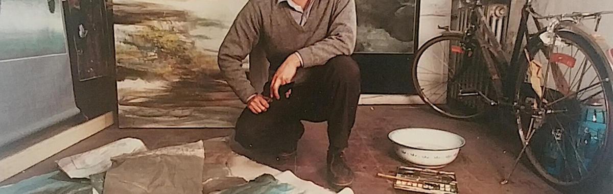 """李永存,红二代,71 岁,他把艺术归结为红二代的不甘平庸   """"星星美展""""回忆录④"""