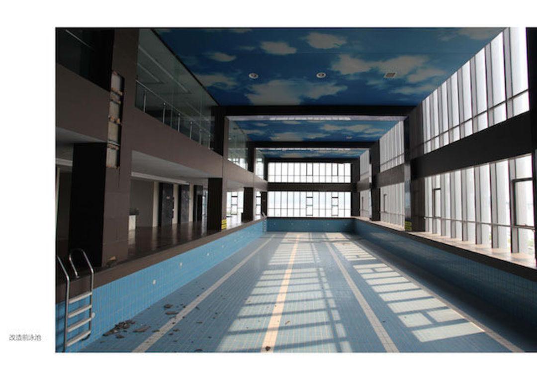 改造前的游泳池