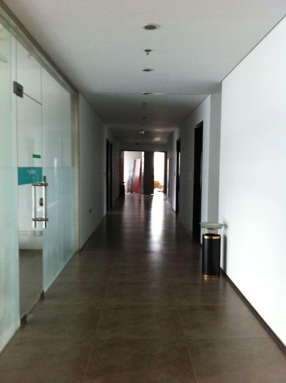 改造前走廊