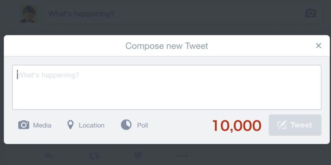 发布器的界面变成了 10000 字