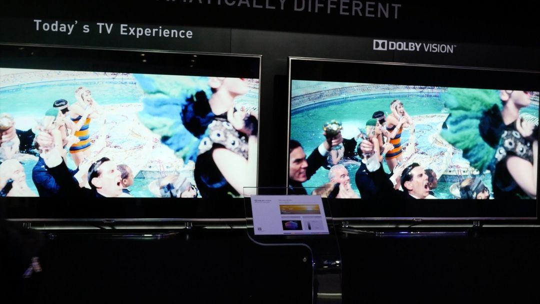Dolby Vision 的现场演示