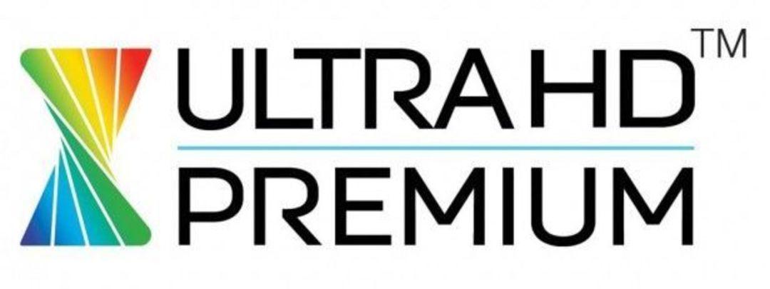 HDR 认证 Logo,在美国,符合规格的电视都会贴上