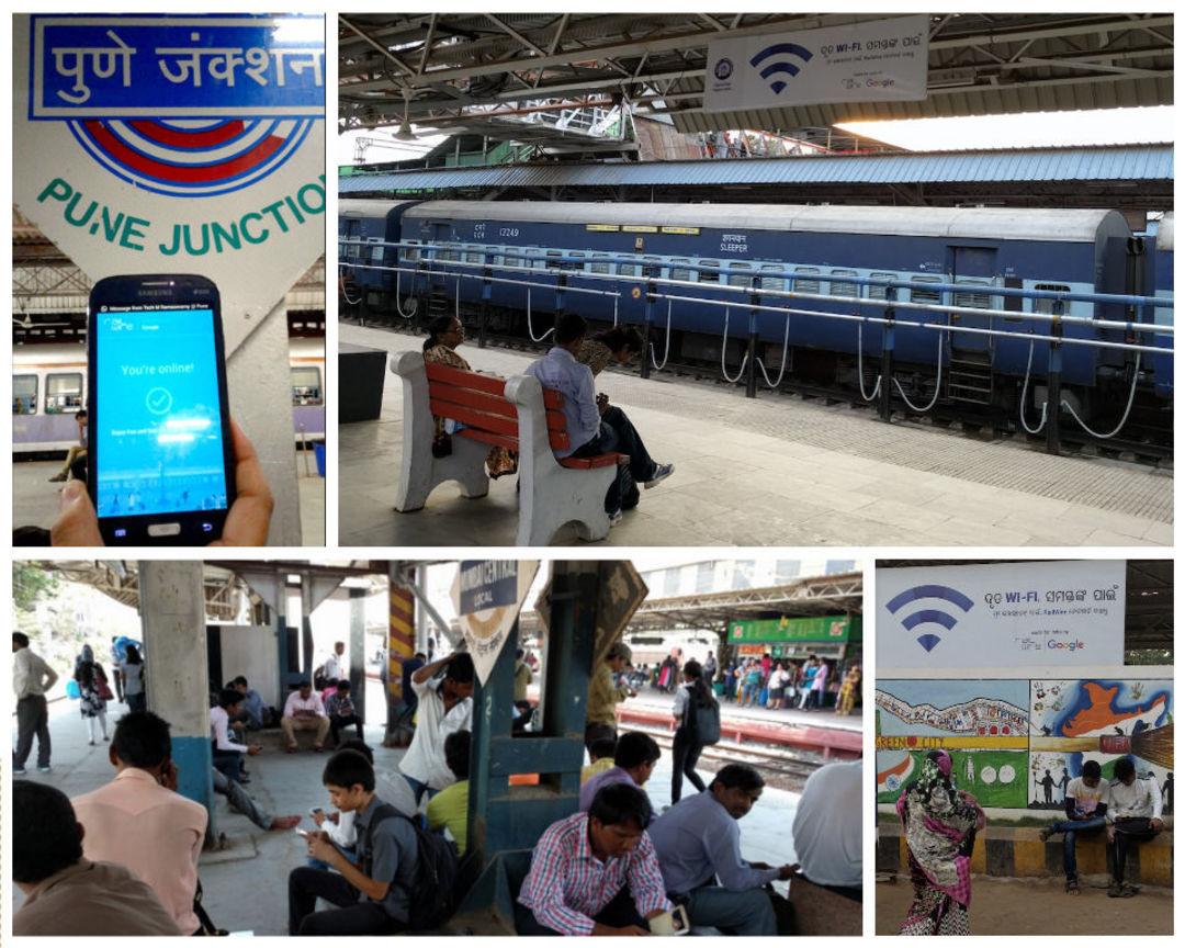 赢取印度用户的心,Google 从给火车站装 Wi-Fi 开始_智能_好奇心日报