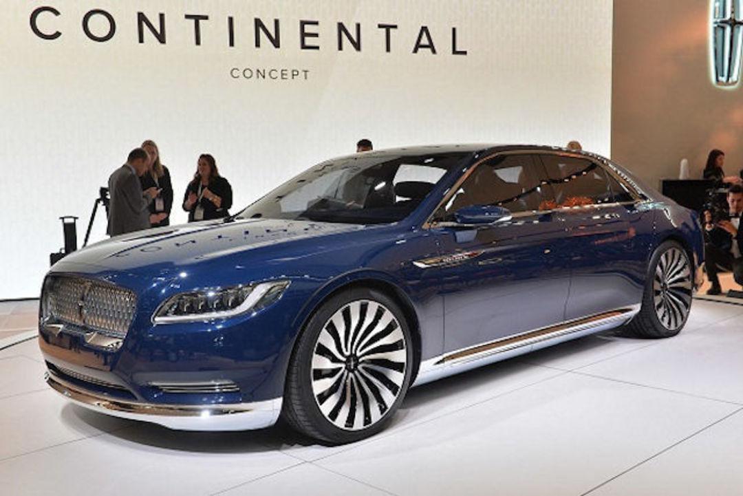 林肯全新 Continental 将在 2016 年入华