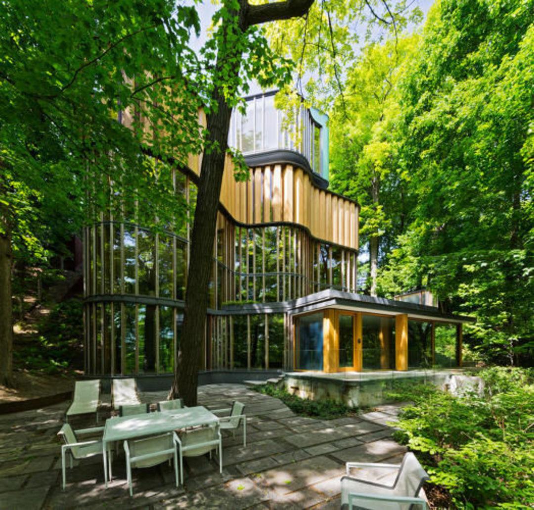 这座房子的灵感来自微积分,曲线无处不在_设计_好奇心日报