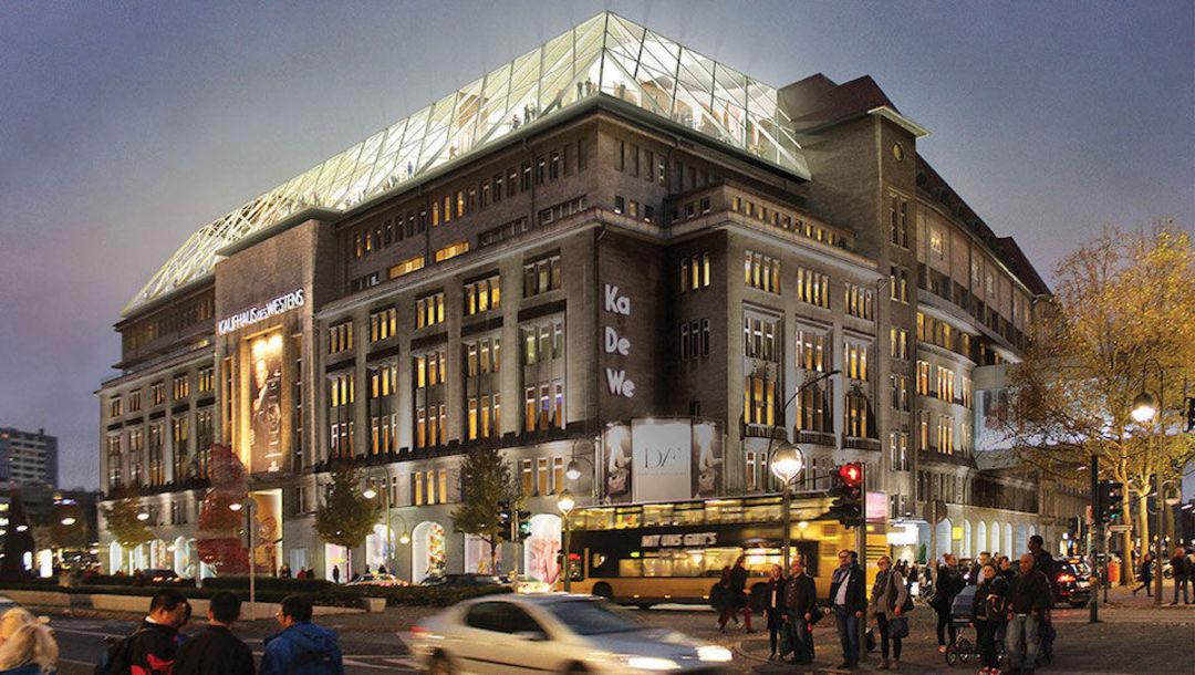 这就是柏林的老商场了