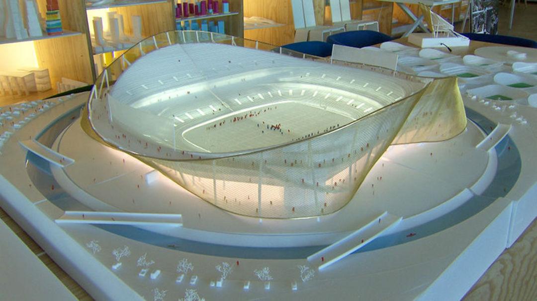在这个橄榄球场除了看球赛,你还可以划船和冲浪_设计_好奇心日报