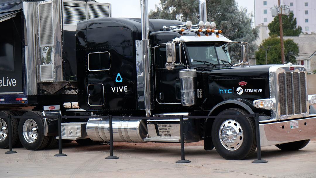 HTC Viv 的车