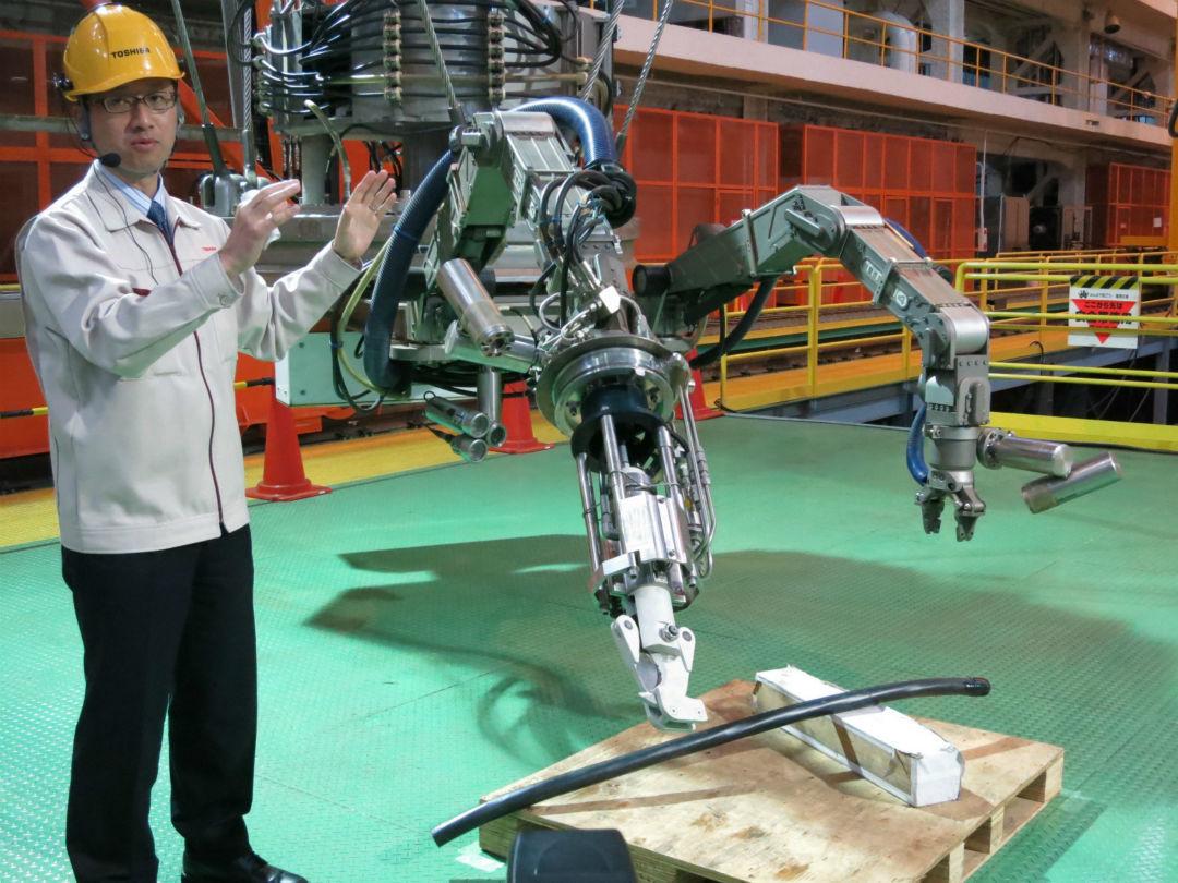 东芝的新机器人