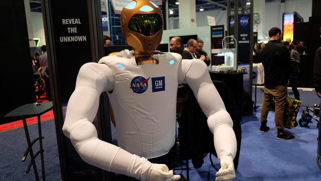 太空站机器人