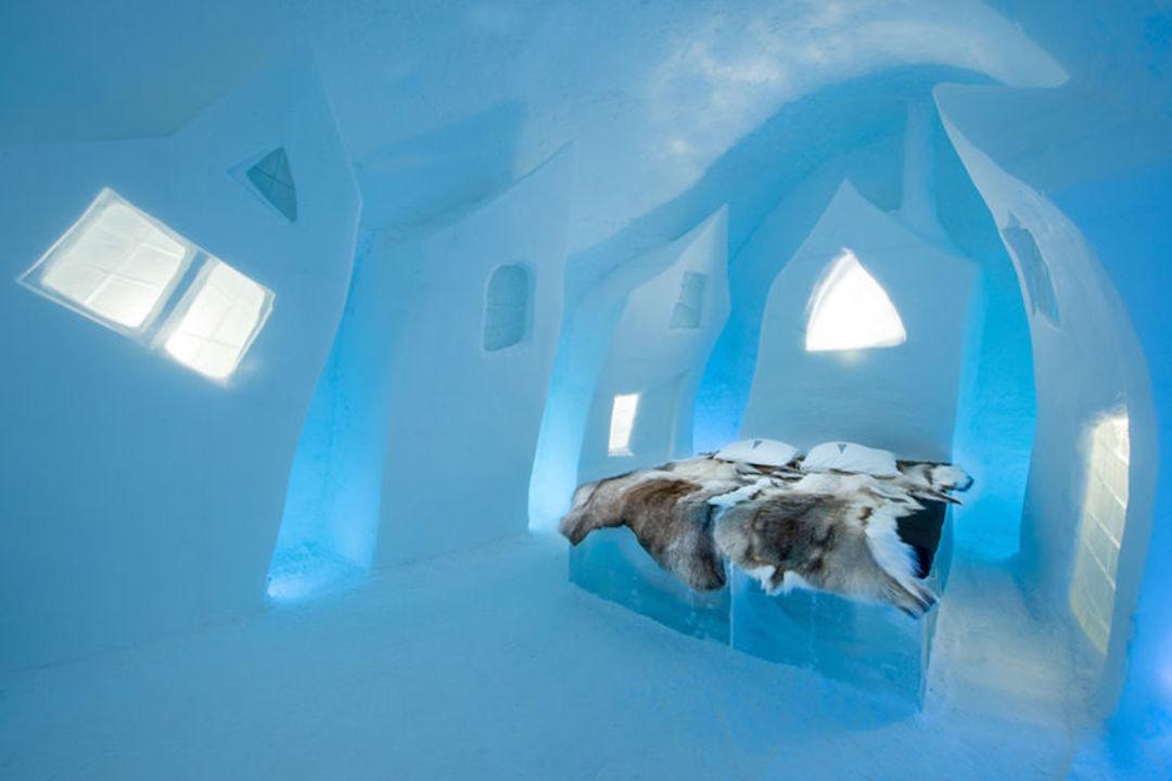 住在这种冰雕酒店里,那得穿多少衣服睡觉啊?_设计_好奇心日报