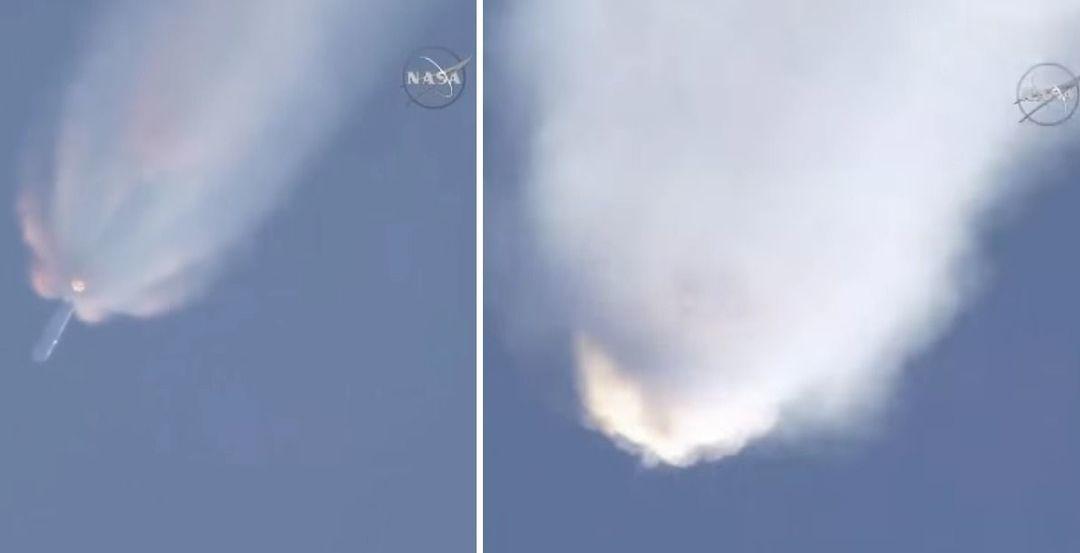 火箭爆炸画面